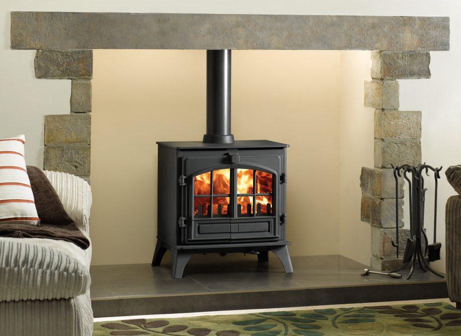 Riva Plus Medium Woodburning