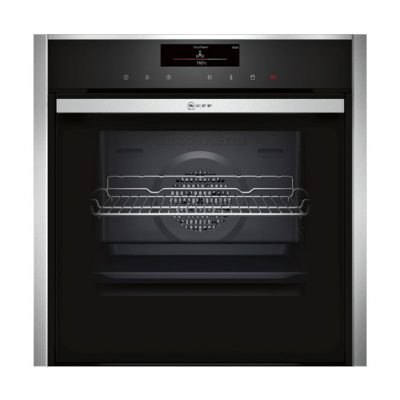 Neff Fullsteam Combination Slide And Hide Stainless Steel Oven