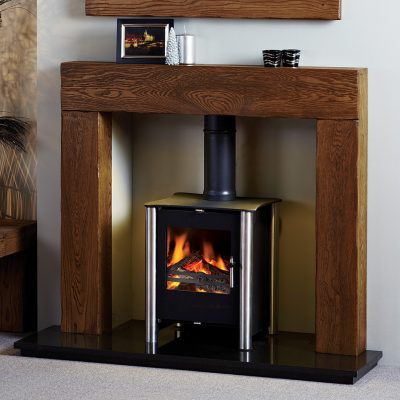 Sutton Stove Surround In Aged Oak