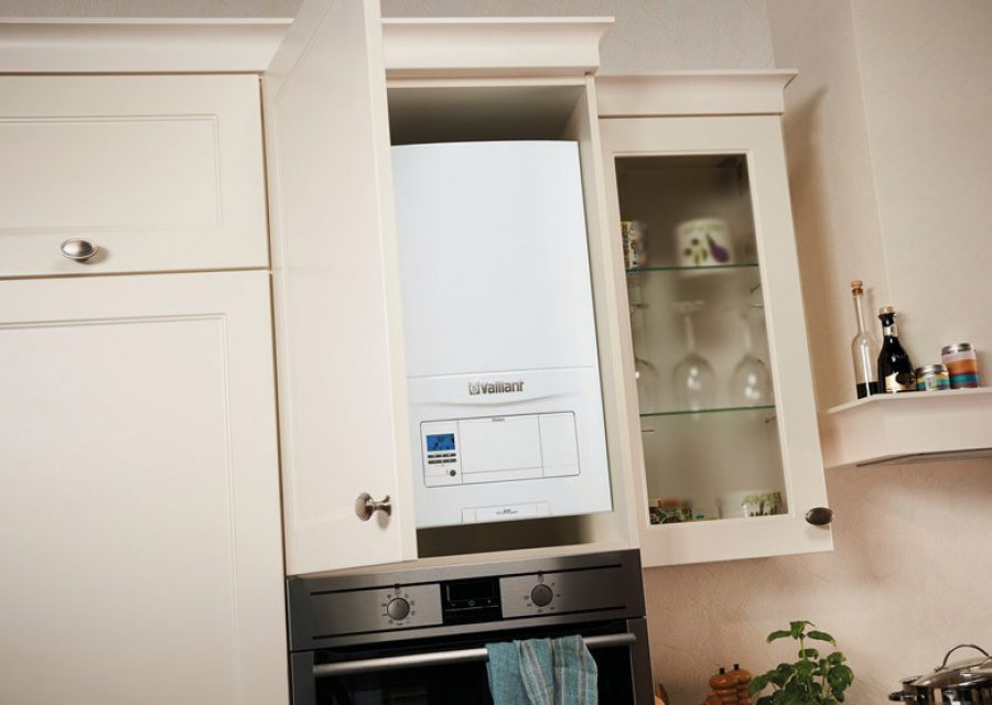 Valliant Boiler Kitchen Cupboard