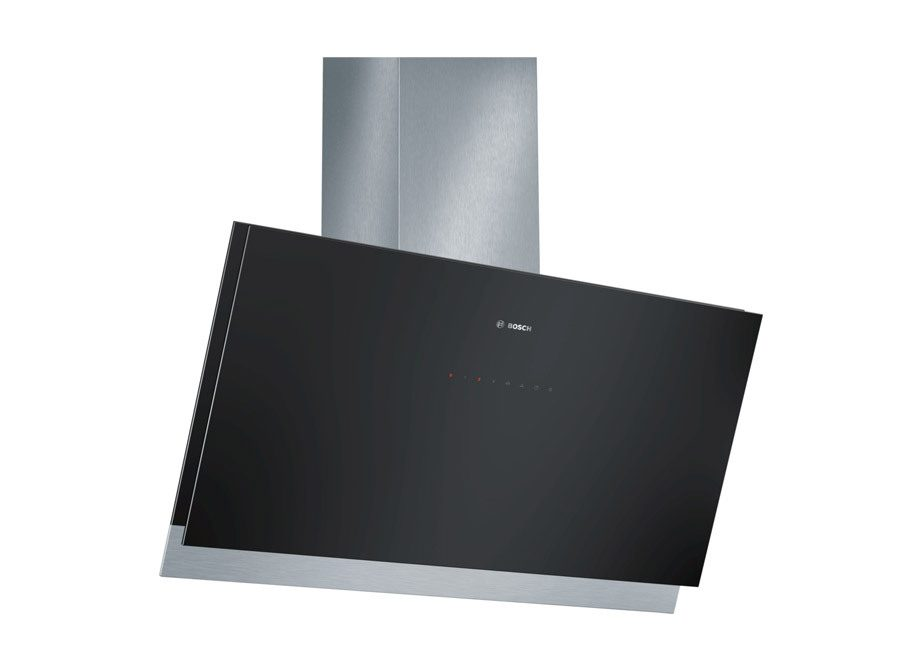 Bosch Series 8 Angled Glass 60Cm Chimney Extractor Hood