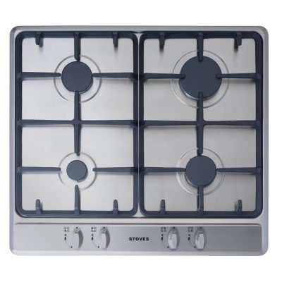 Stoves 60Cm Gas Hob With Cast Iron Supports