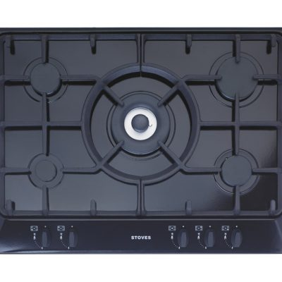 Stoves 70Cm Gas Hob With Cast Iron Supports